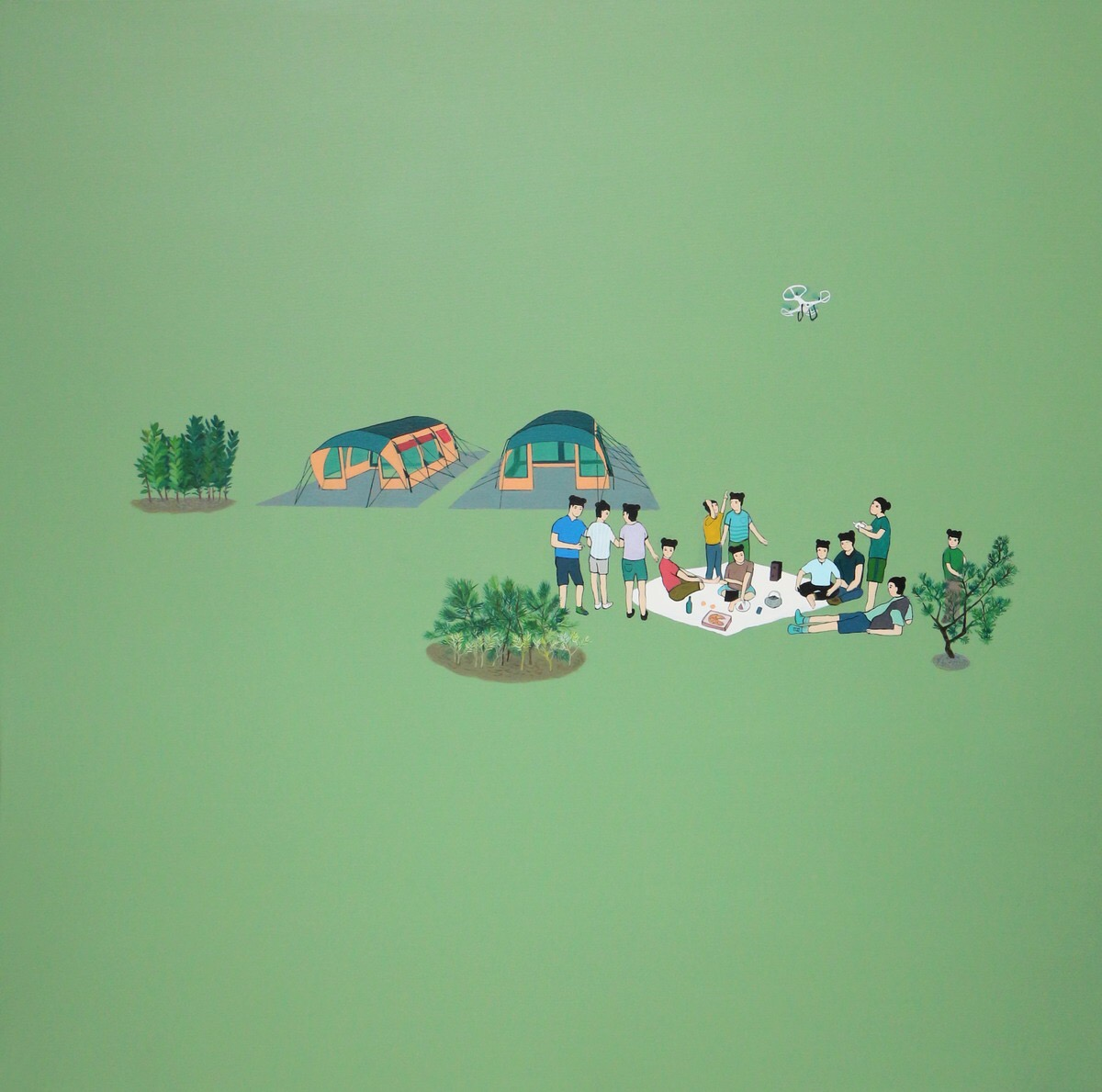 Landscape Project:The Luncheon on the Grass 2