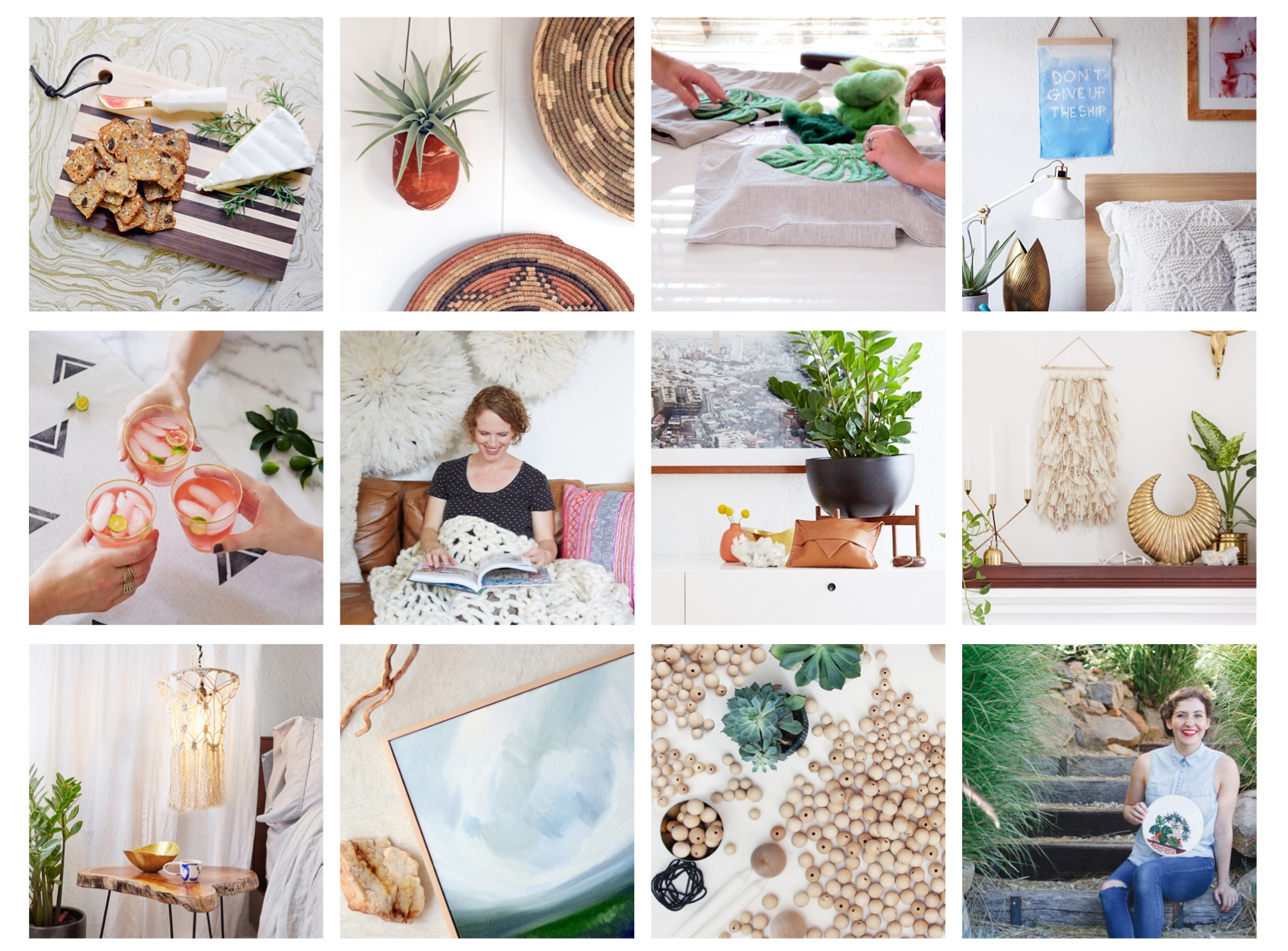 Selected Projects and Featured Makers from The Crafter's Box