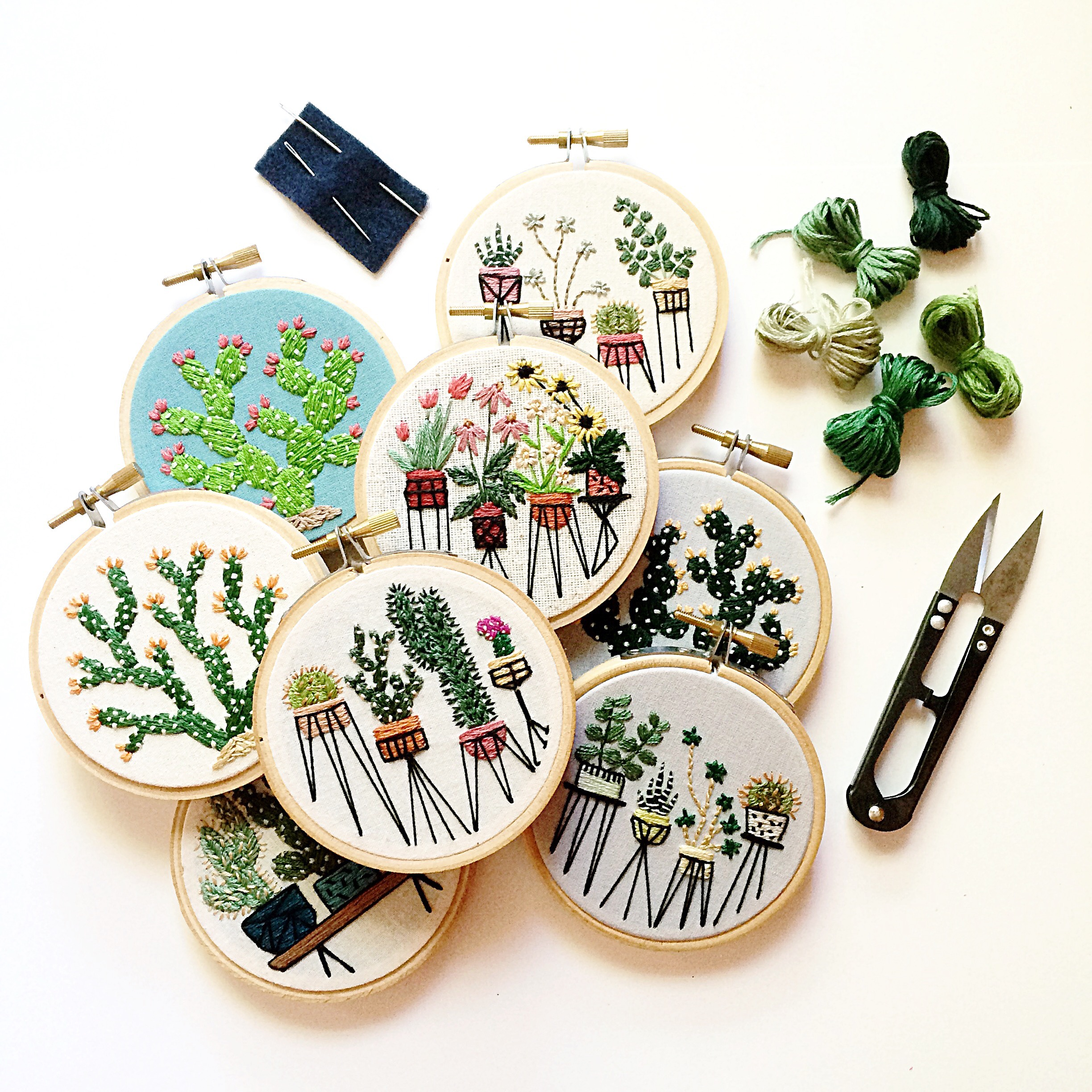 April 6, 6 - 8 pm, Chicago - Please join me for an evening of embroidery at one of my favorite places in Chicago!Participants and I will stitch up some mini botanical embroideries. I will share all of my best and favorite tips and tricks, walking participants through the embroidery process from start to finish.There is absolutely no embroidery experience necessary! All you need is a little patience and enthusiasm for making.All materials will be provided!
