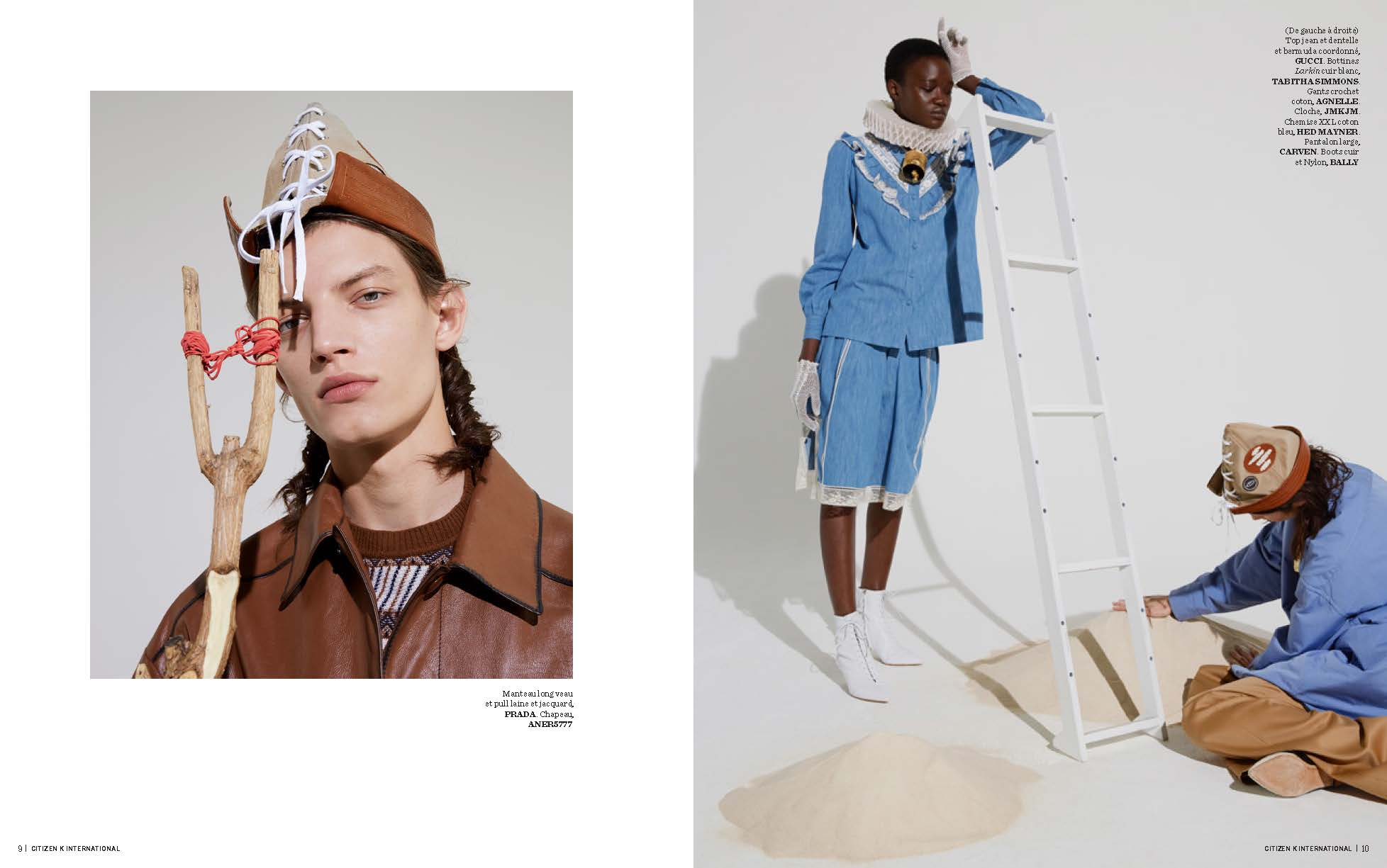 WUNDERBAR   Collab' for CITIZEN-K magazine. Paris // by  Romain Liégaux and Elsa Durousseau