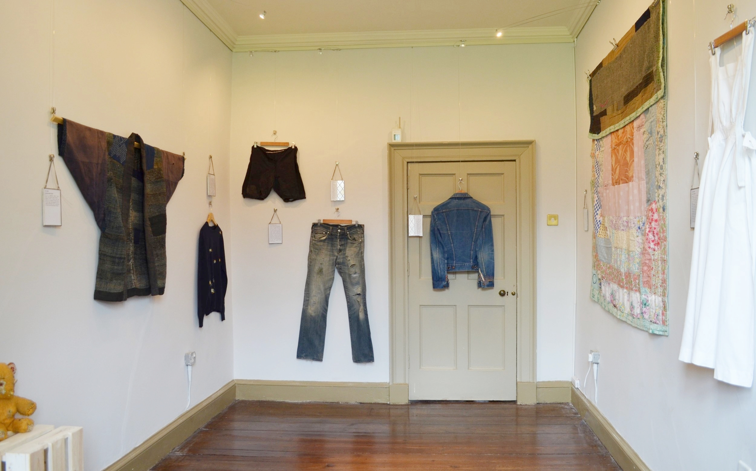By a Thread May - June 2016 at Gawthorpe Textiles Collection (Exhibition photograph: Jenny Waterson)