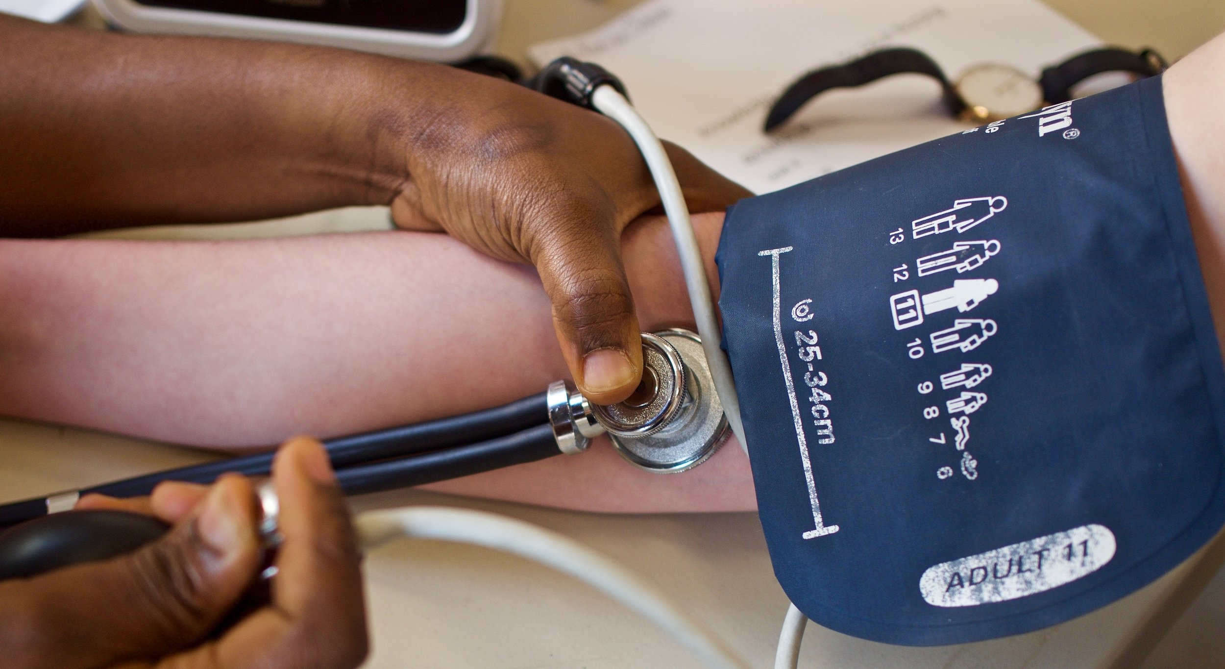 Listening in: Learning how to take a blood pressure manually