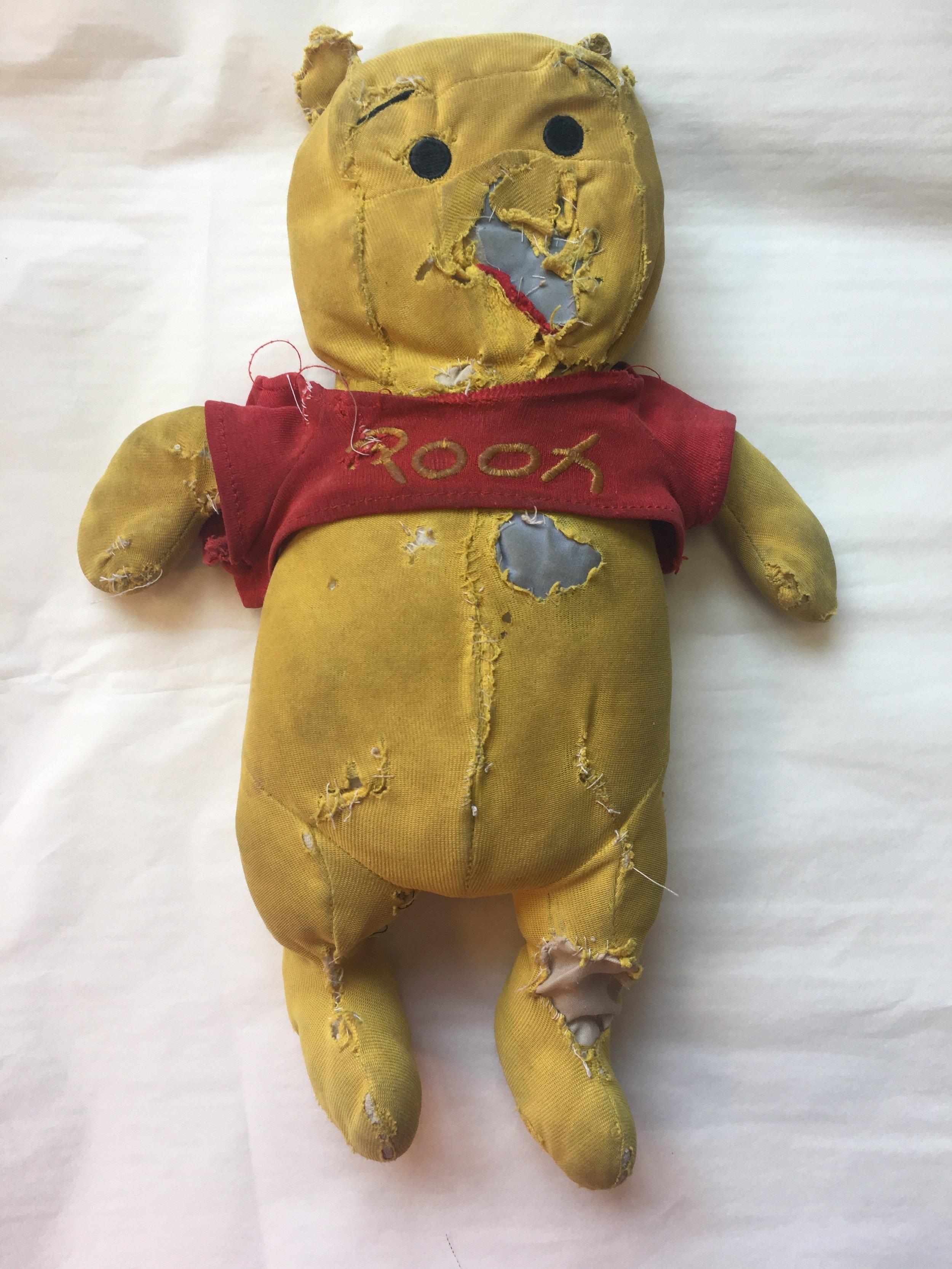 The Threadbare: Amy's Pooh Bear