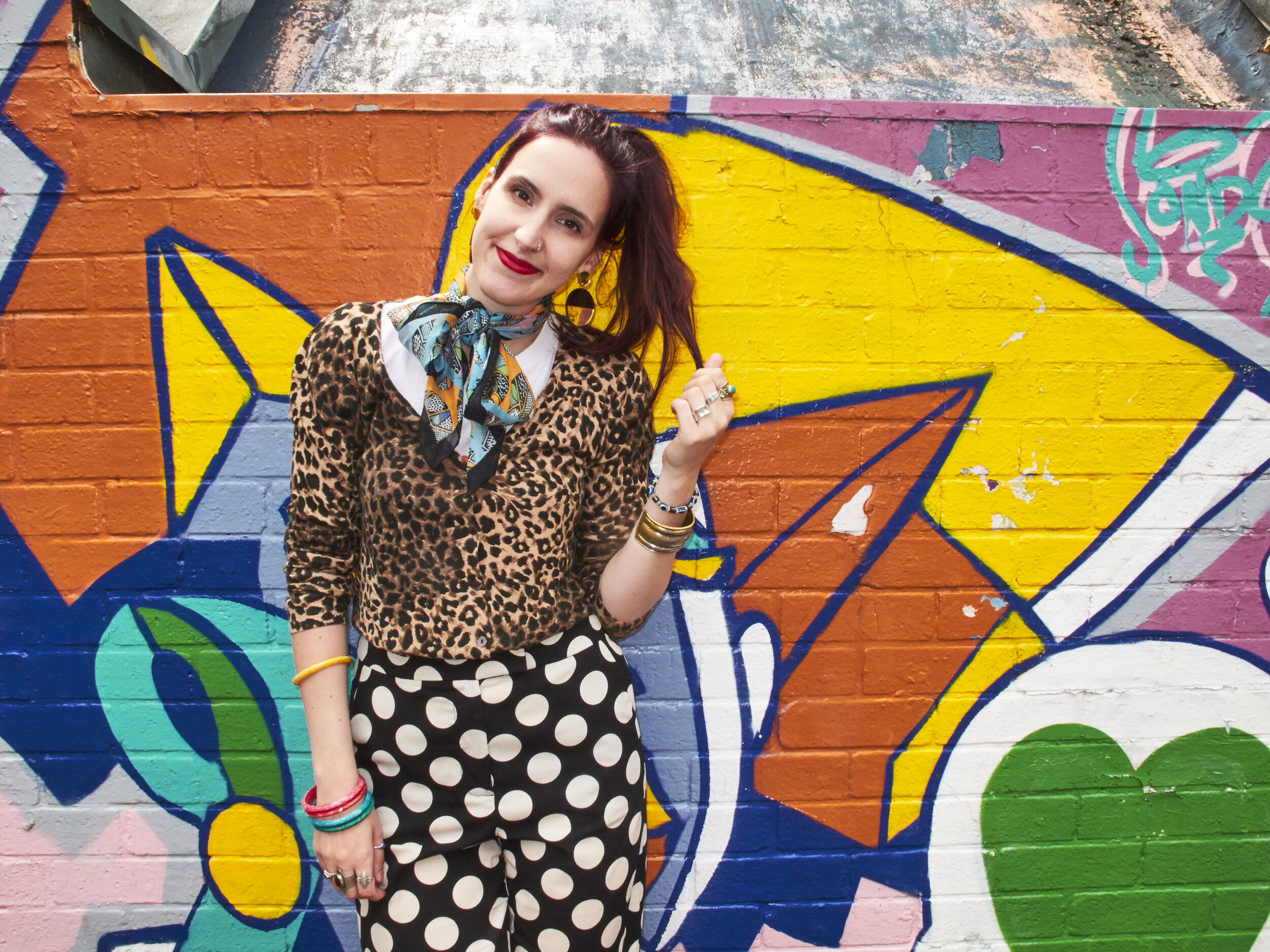 SOPHIE BENSON  Sophie is a freelance writer, stylist and fashion lecturer. She works with a focus on sustainable fashion and covers the topic for publications including The Guardian, Refinery29, Dazed and Grazia.  Image by Kayti Peschke