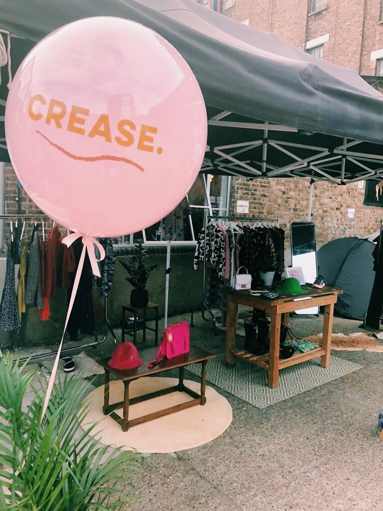 CREASE    We all have too many clothes, yet nothing to wear. It's all too easy to fall into the fast fashion trap of buying one wear pieces for a quick wardrobe fix. Crease want to offer you a sustainable solution to always looking fresh. They're a peer to peer clothing rental platform with community at the heart, running Rent Events for like minded individuals, who either want to monetise their wardrobes or who are after some guilt-free newness to rent & return. With fashion being the second biggest polluter of our planet, we need to start doing things a bit differently. It's time to start Creasing.
