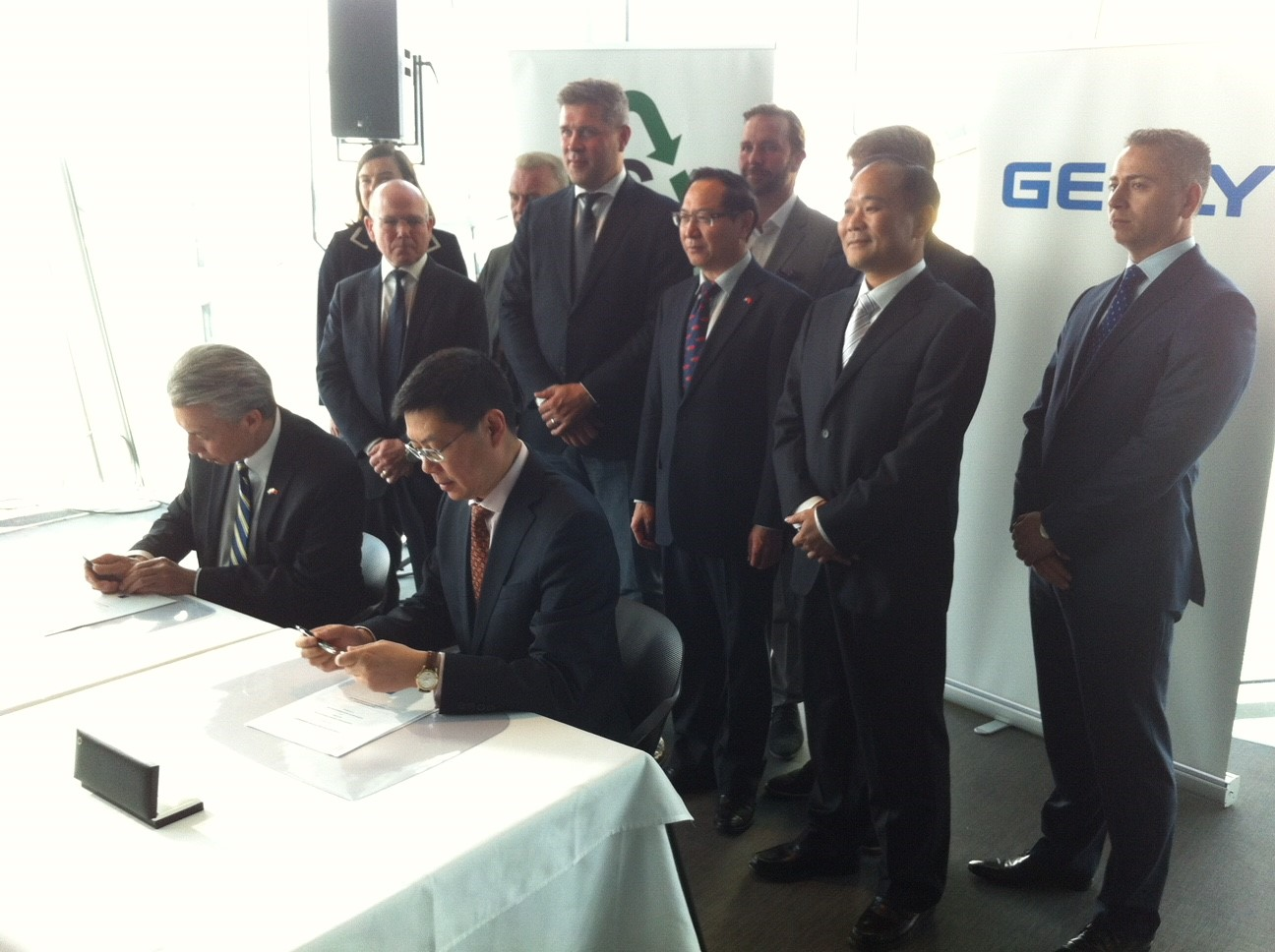 Geely invests