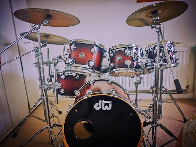 New addition to the band gear @dwdrums kit  Thank God that he continues to bless us!