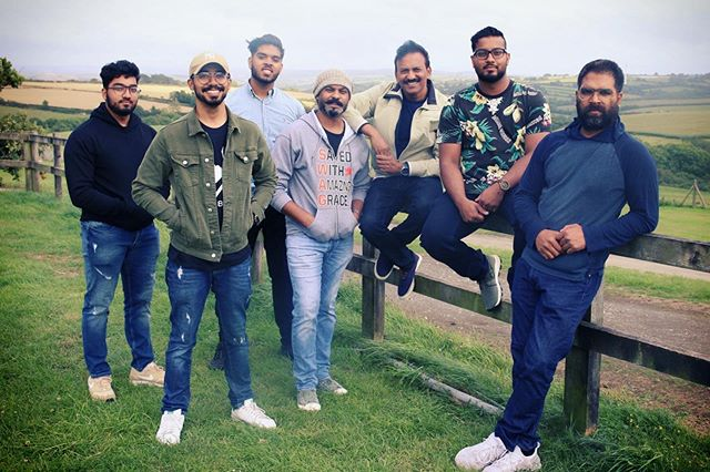When you have that many people in the picture, its always a challenge taking a photo in which everyone looks half decent! 😀 Pc: @jnaz_01  #ABBRR #BandPhoto #WorshipBand #CornwallDiaries