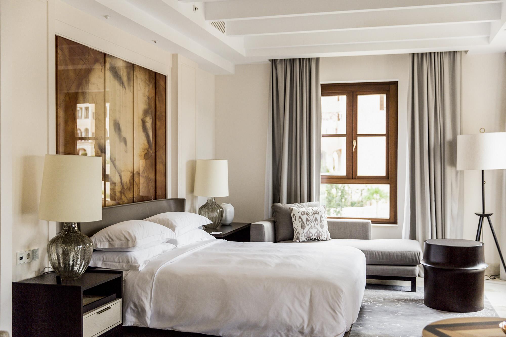 The Presidential Suite bedroom