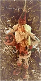 A Lilies' Family tree ornament... Skinny Santa