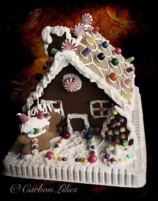 Gingerbread 2014... our adventure in gingerbread house decorating - Lana's first time ever