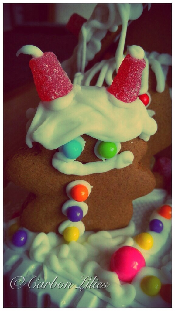 Gingerbread 2014... Yeti the Snowman