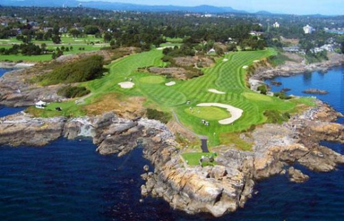 The Victoria Golf Course from  Seeks Ghosts Blogspot.ca