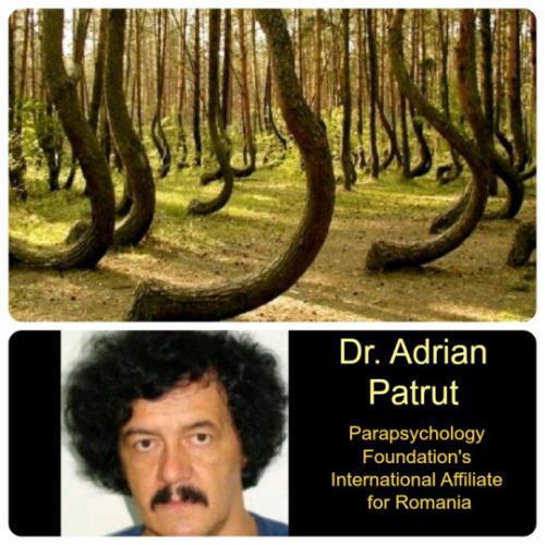 Dr. Adrian Patrut and Hoia Baciu Forest .