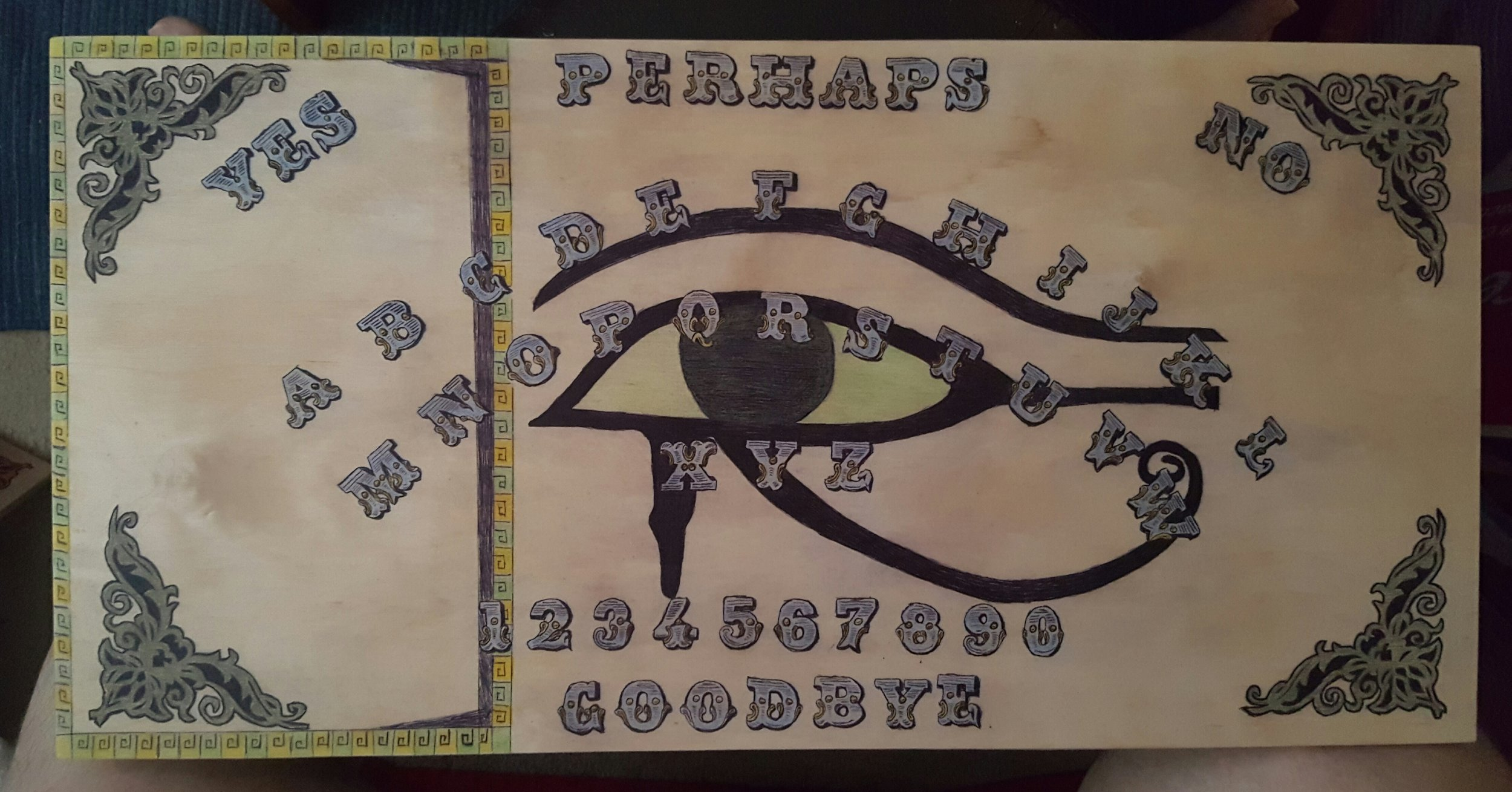 The Egyptian Portal Talking Board created by Lana Carbon