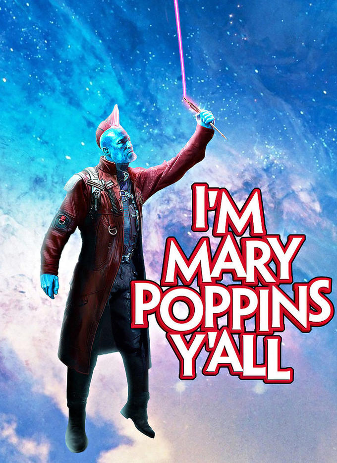 Yondu meme courtesy of knowyourmeme.com. Rights to the character belong to Marvel.
