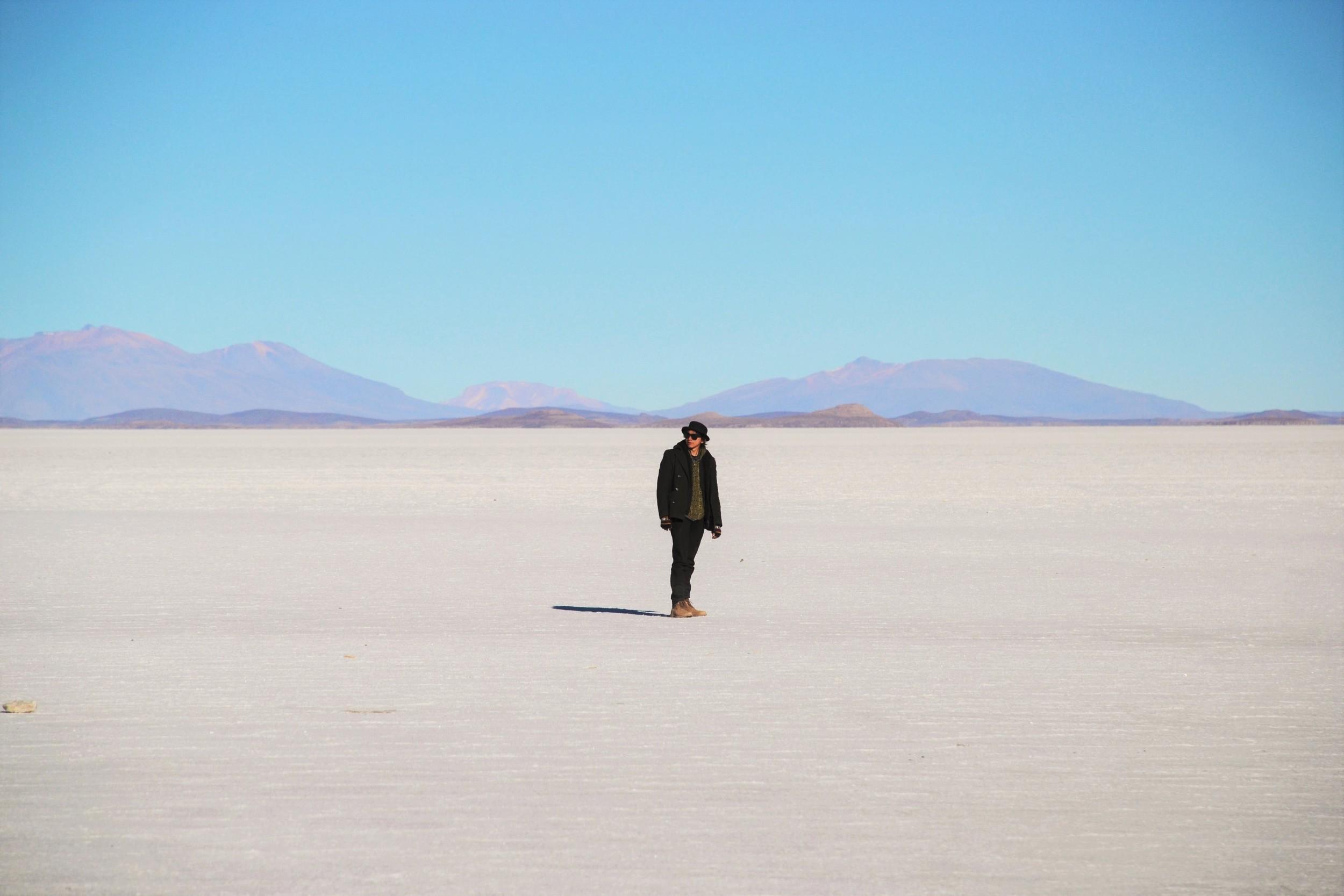 Me, in the Salt Flats.