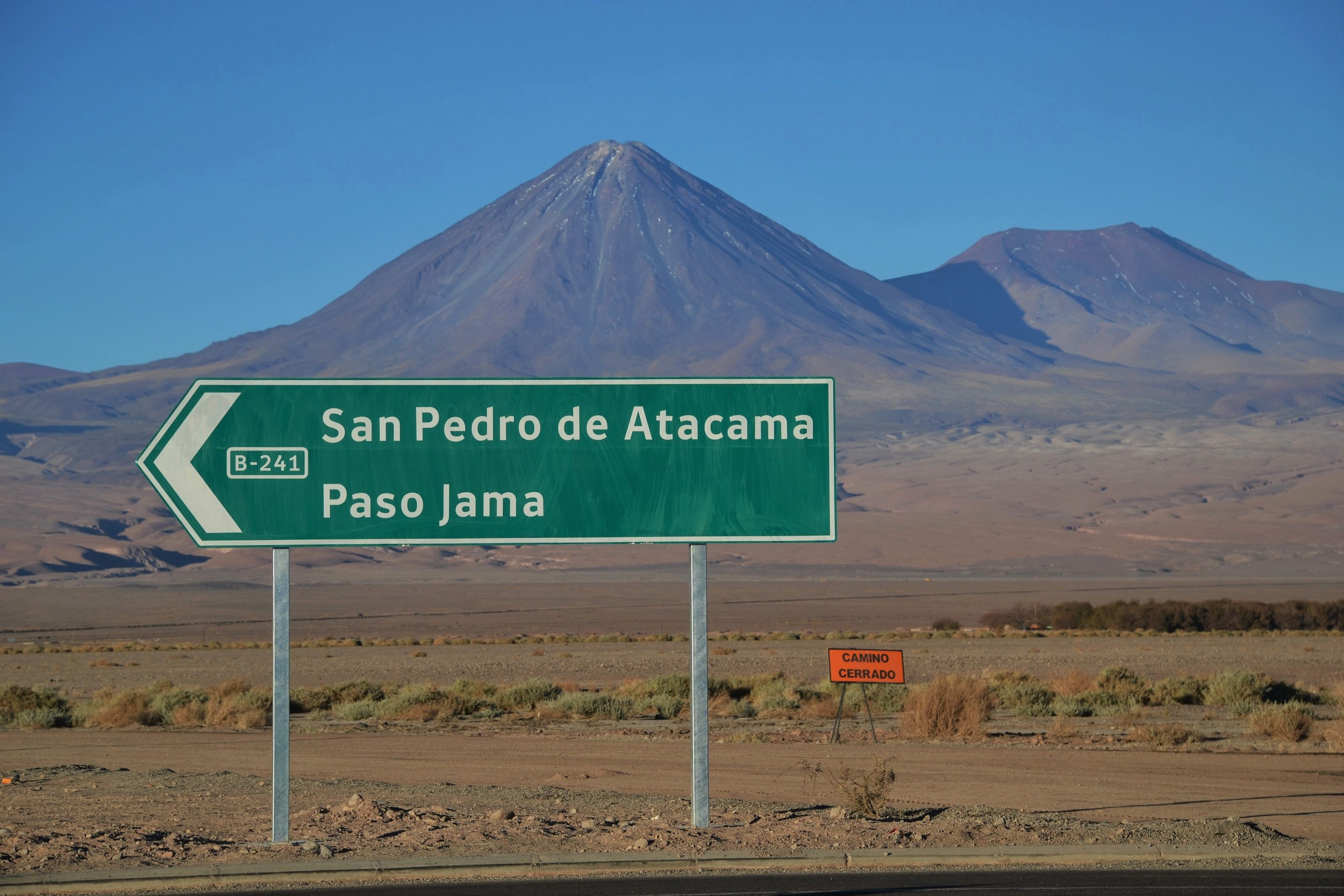 The road to San Pedro.