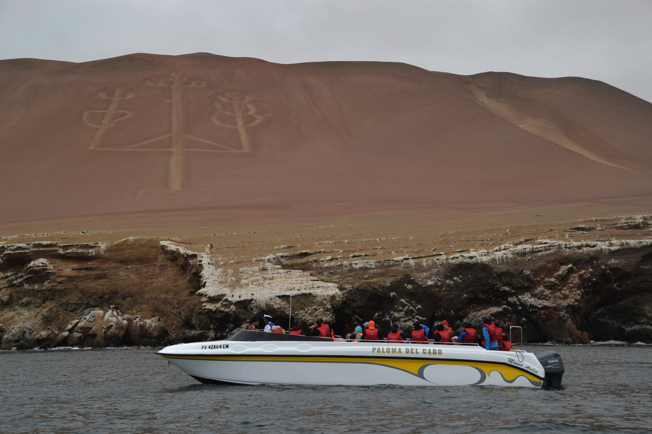 Peru's mysterious coastal Candelabra.