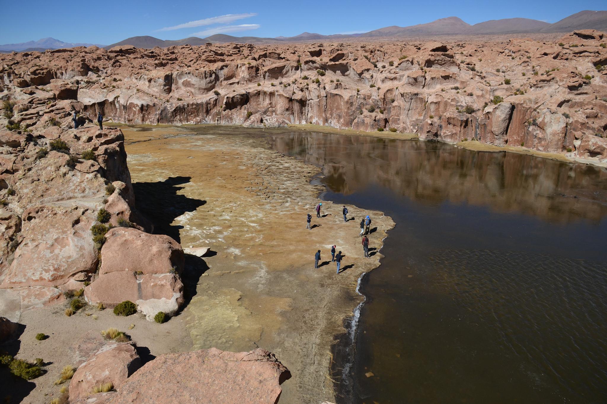 The Black Lake, Bolivia