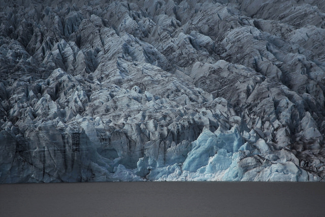 A great wall of ice to the north of the world (F  jallsárlón glacier lagoon).