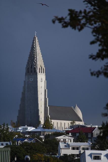 Hallgrímskirkja church, Ryekjavik