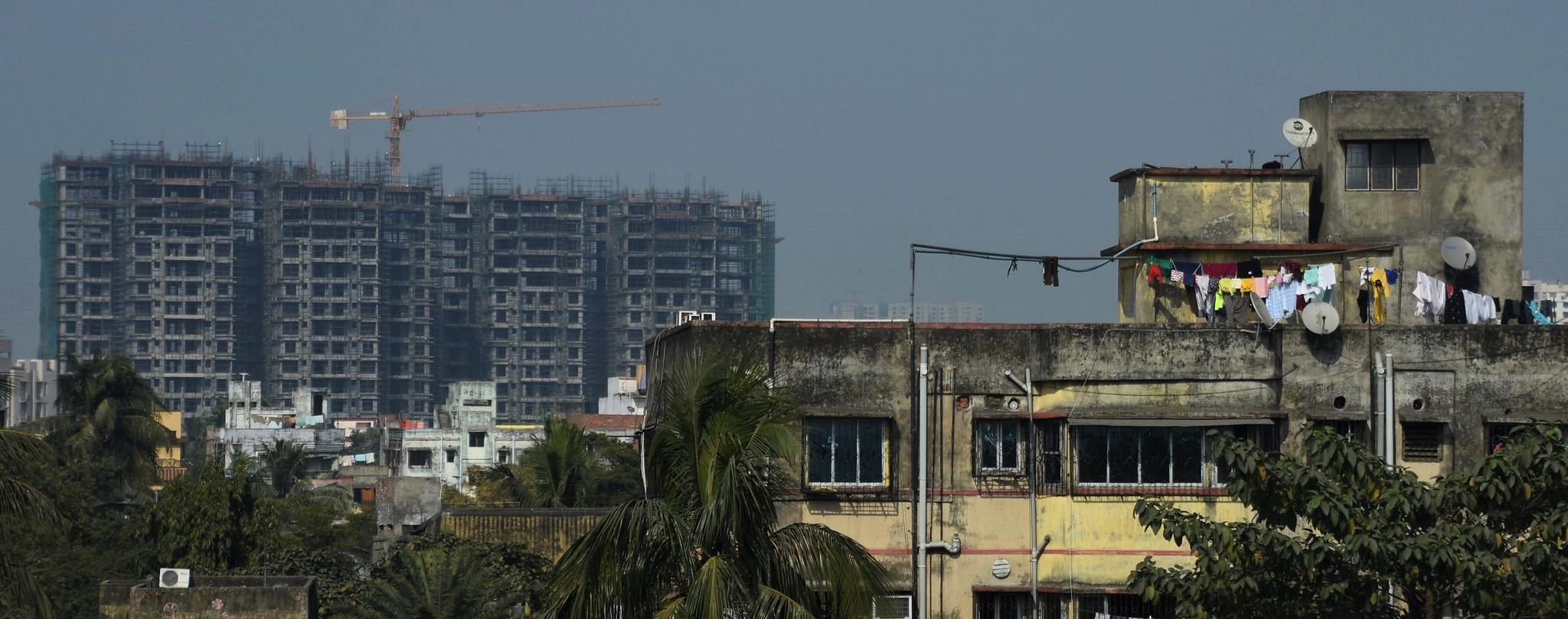 Rooftops in Kolkata