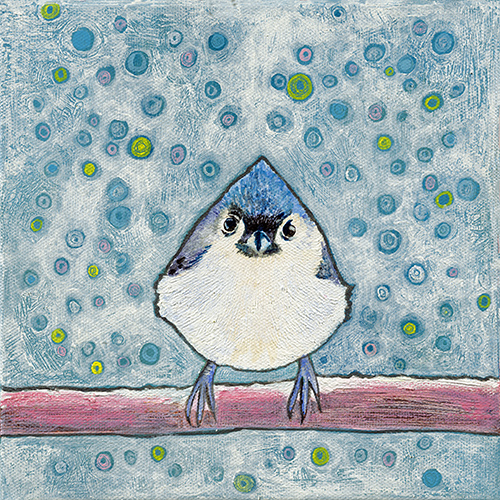 Tufted Titmouse - SOLD