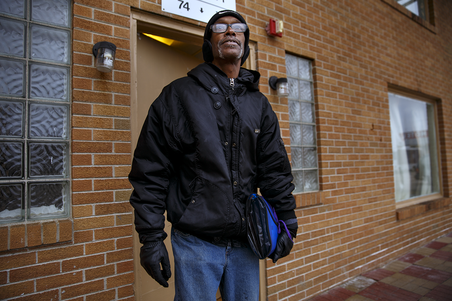 Robert Ringo has lived on and off at the motel for the past eight years.