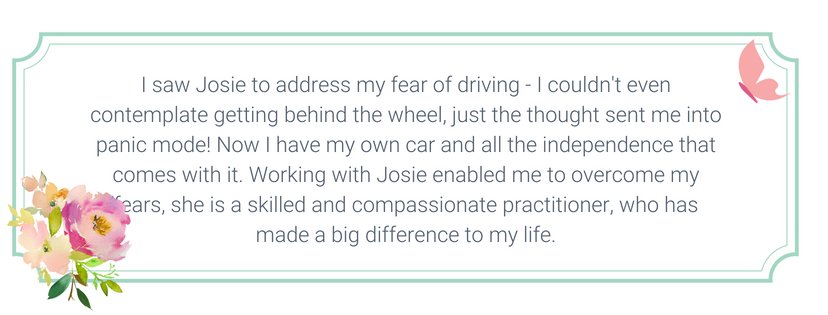 driving fear hypnotherapy