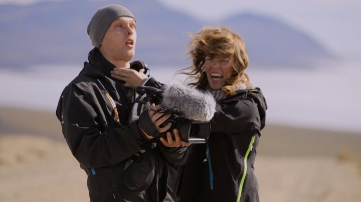feedback time with 2nd Camera somewhere in Chukotka, Russia while filming Arctic Ocean in 30 Days
