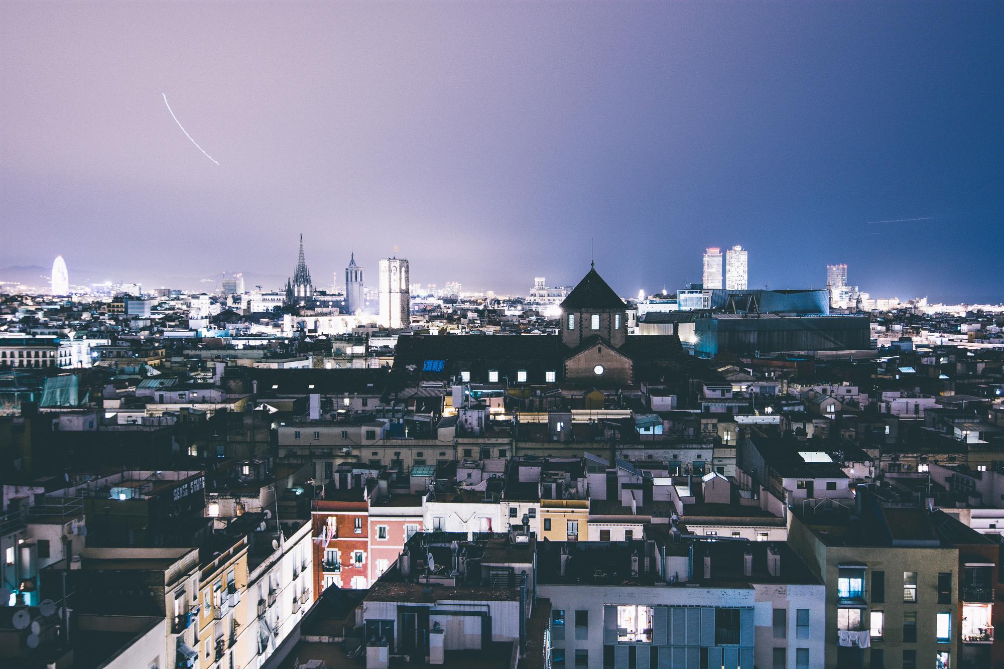 Barcelona-Rooftops