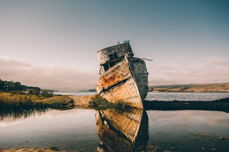 point-reyes-shipwreck-sunset