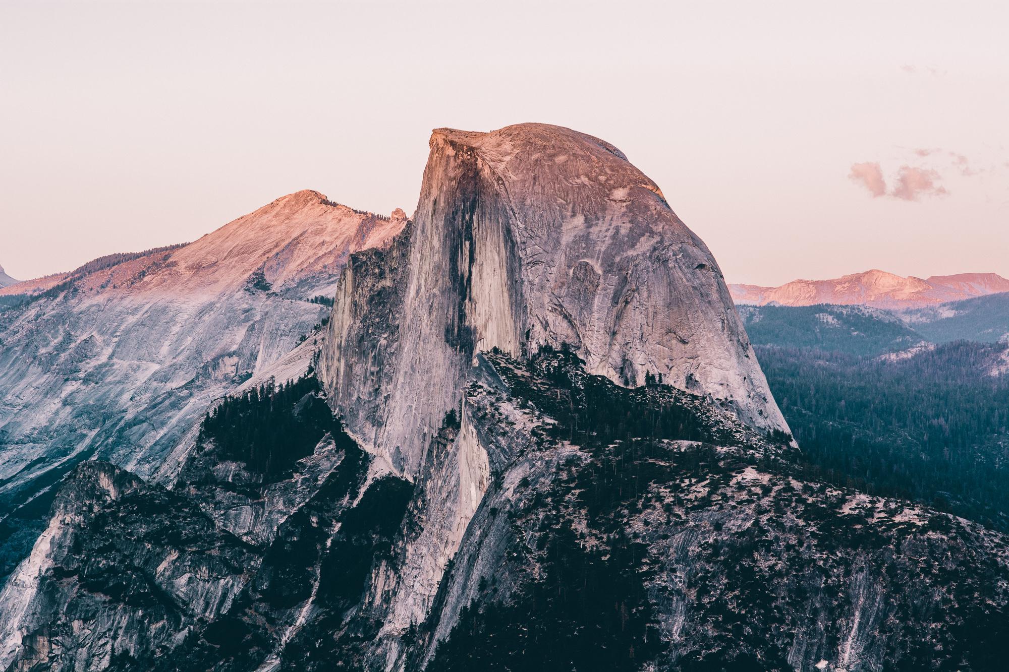 yosemite-half-dome-sunset