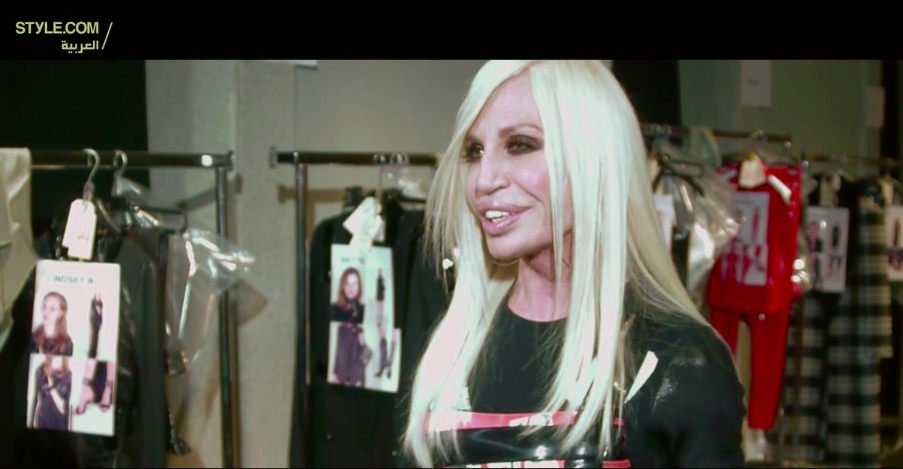 Interview with Donatella Versace