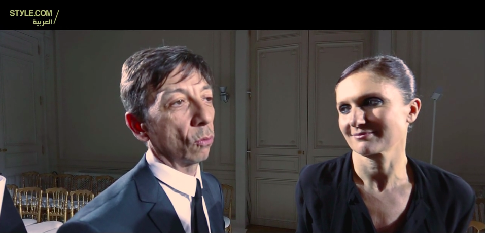 Interview with Valentino's Maria Grazia Chiuri and Pierpaolo Piccioli