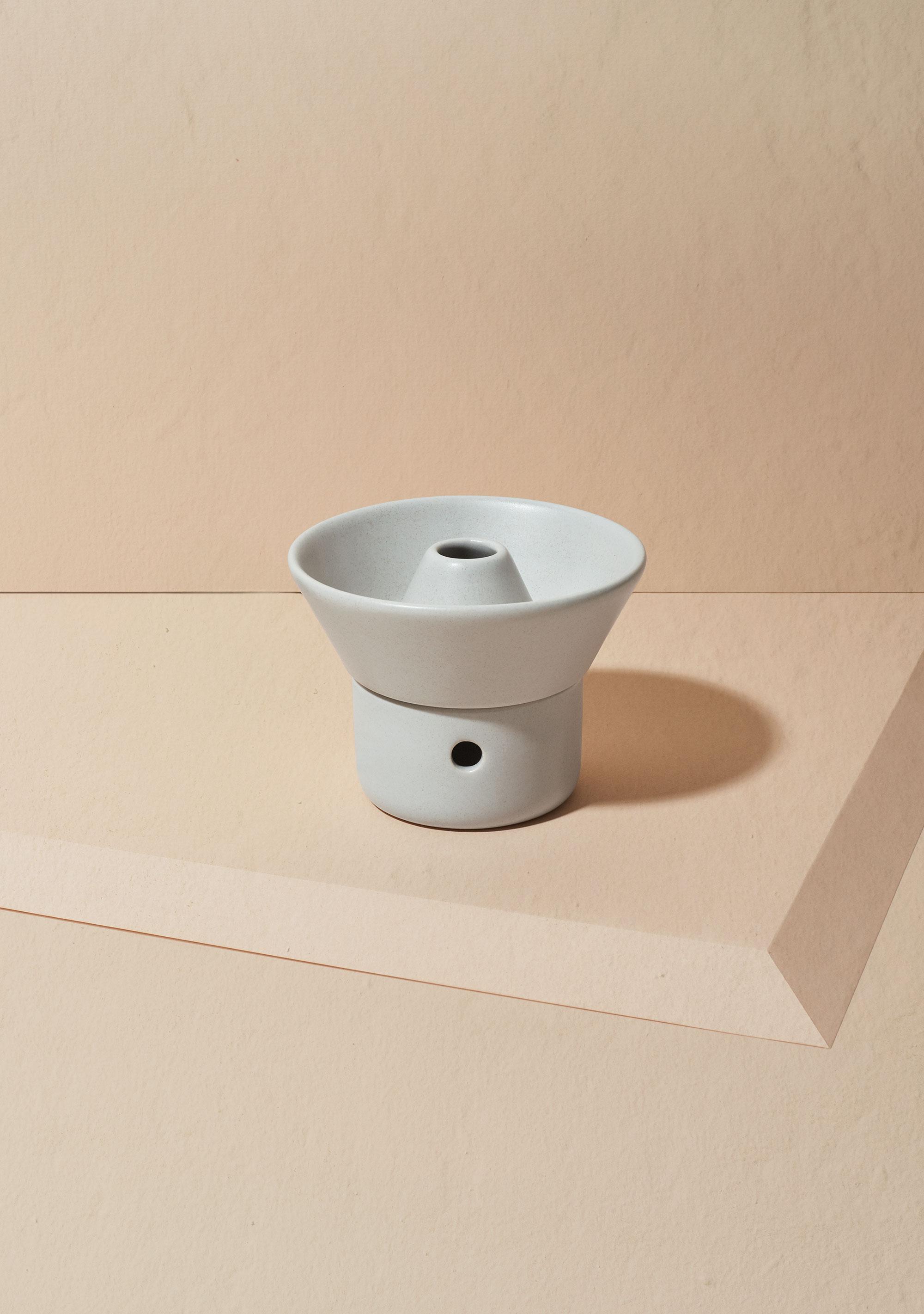 Ceramic Ritual Oil Diffuser Cloud Grey Bodha