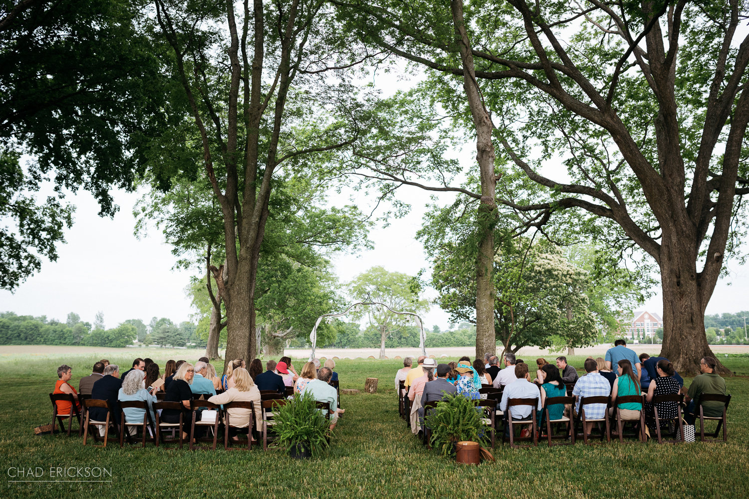 Ceremony at The Grove of Williamson Place