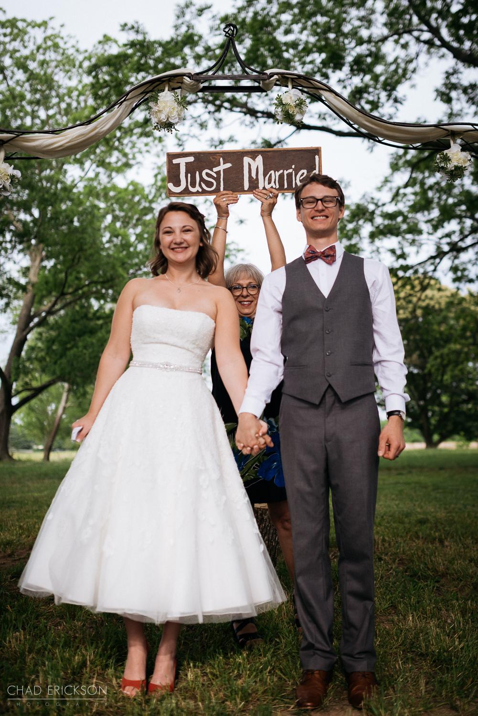 Just married in Nashville TN