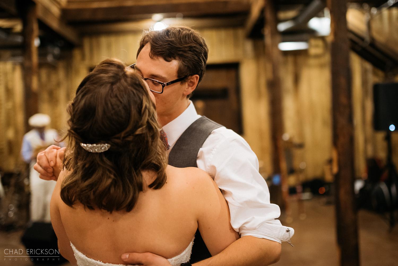 Cute kissing and dancing