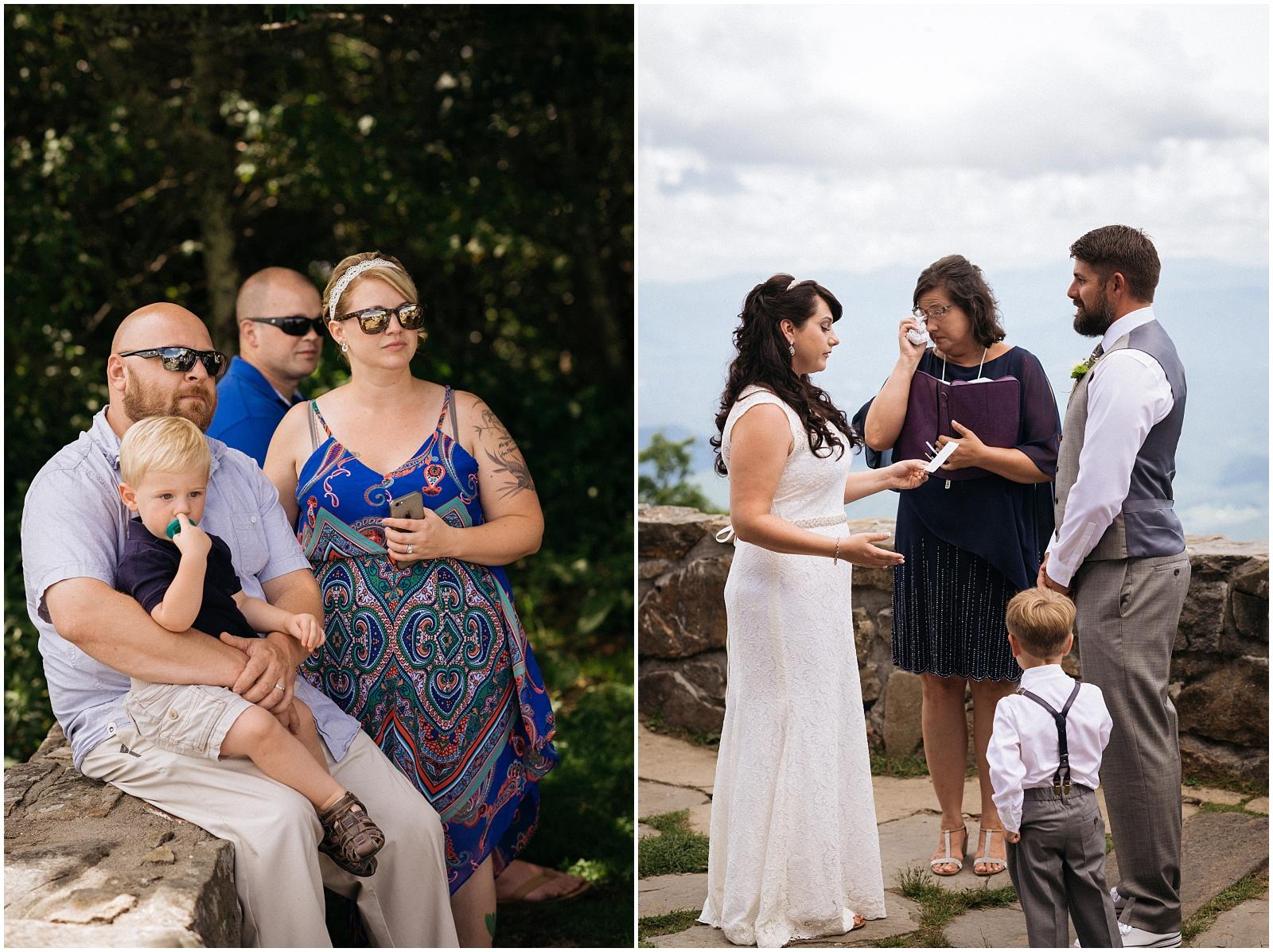 Western North Carolina wedding