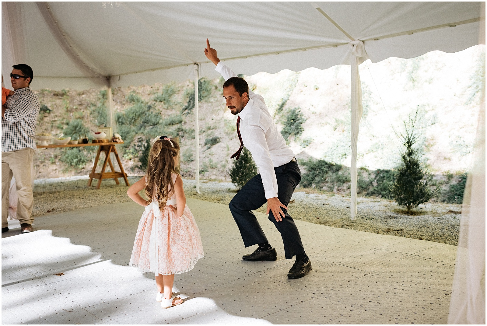 Top dancing picture from Nantahala wedding