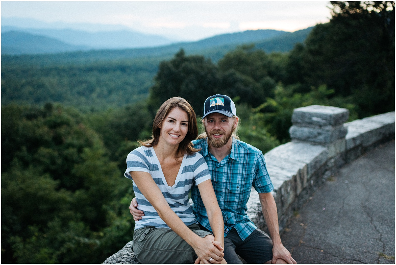 Portrait on in Great Smokey Mountains
