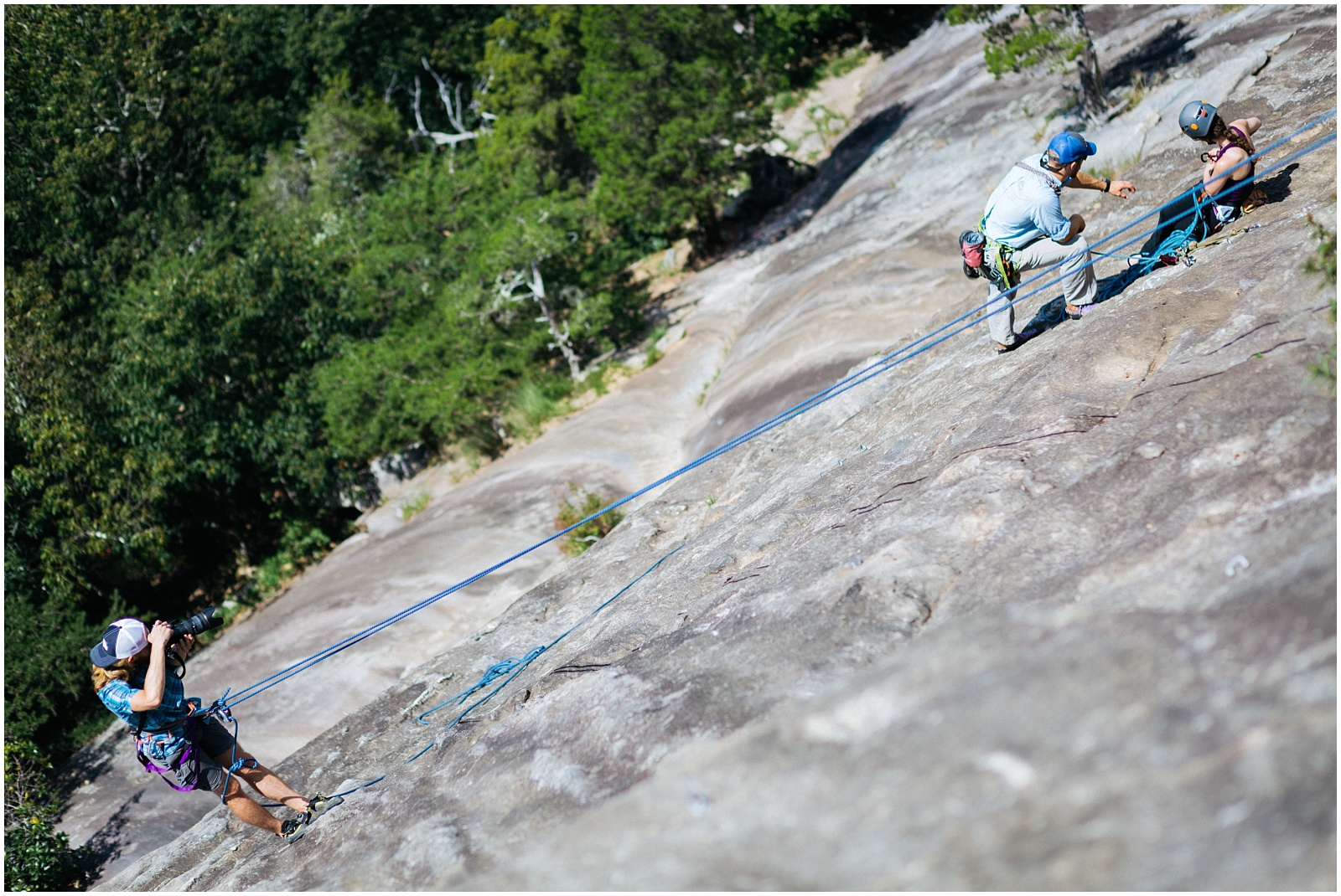 North GA rock climbing