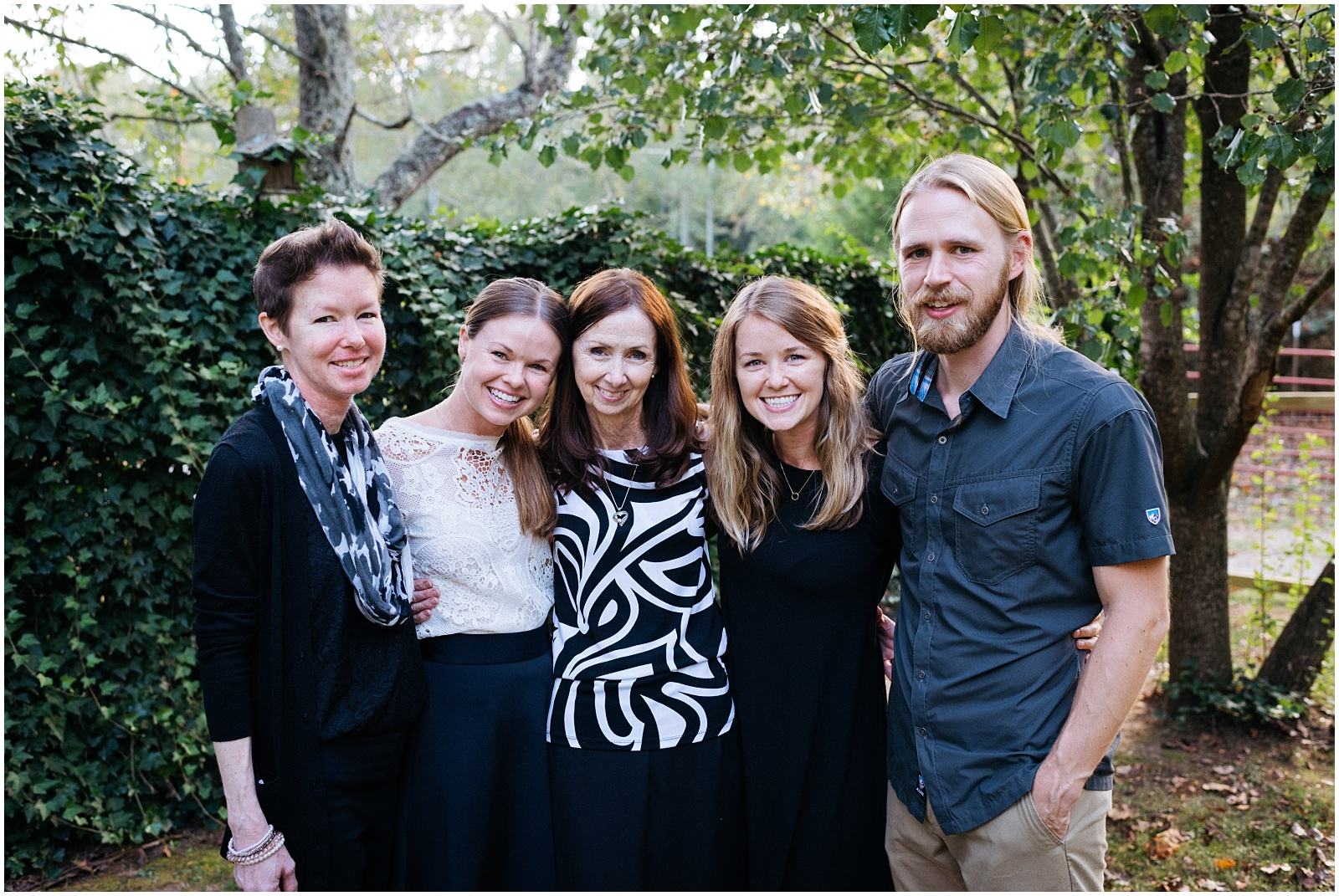 Family portrait in Murphy NC