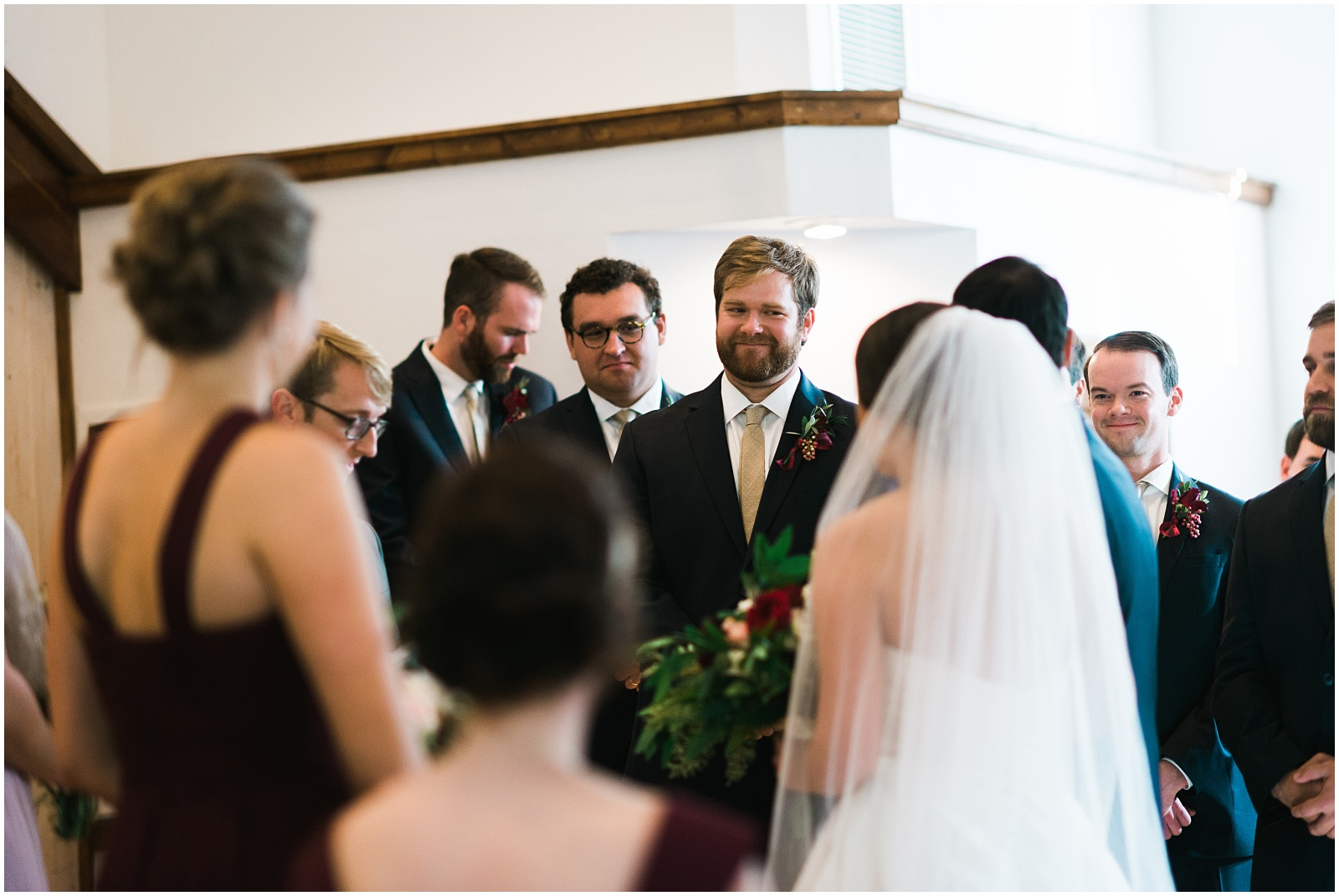 Candids during ceremony