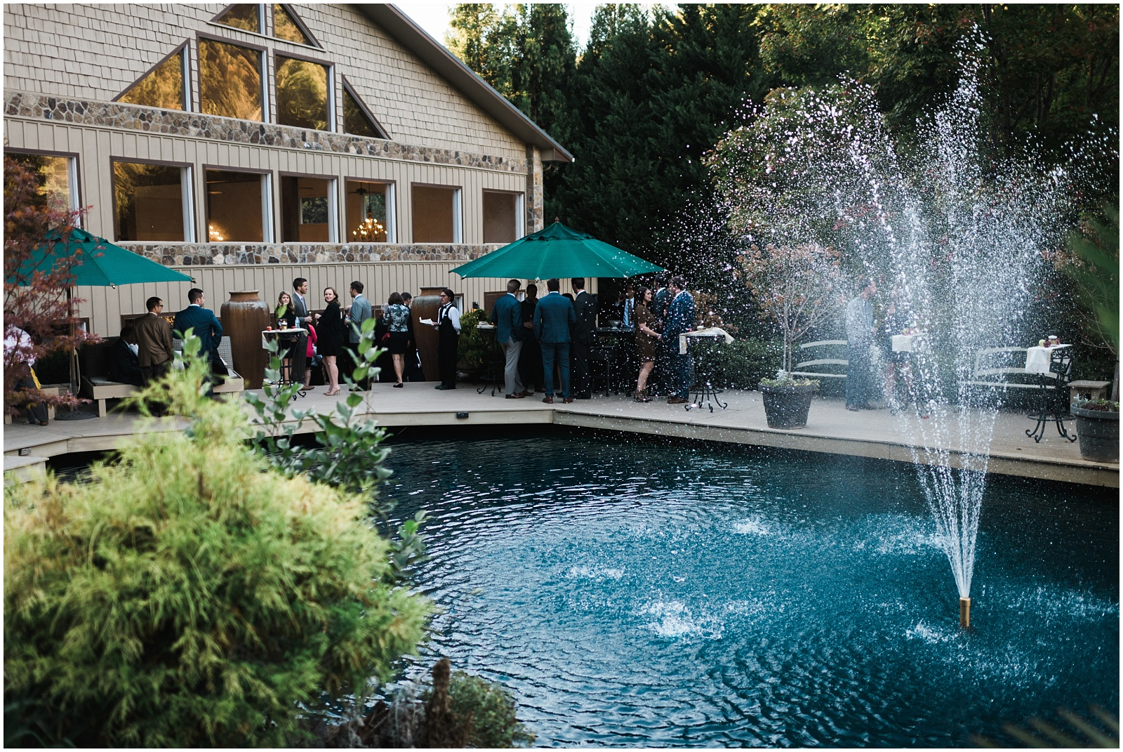 Outside reception