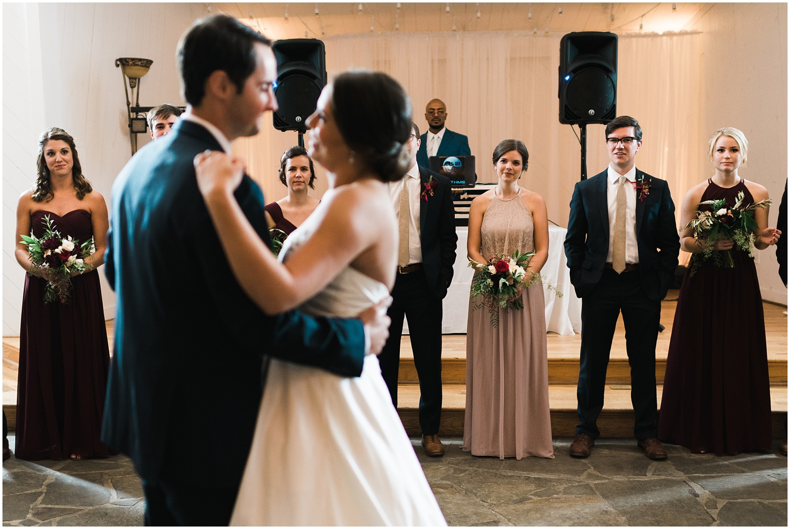 First dance candid