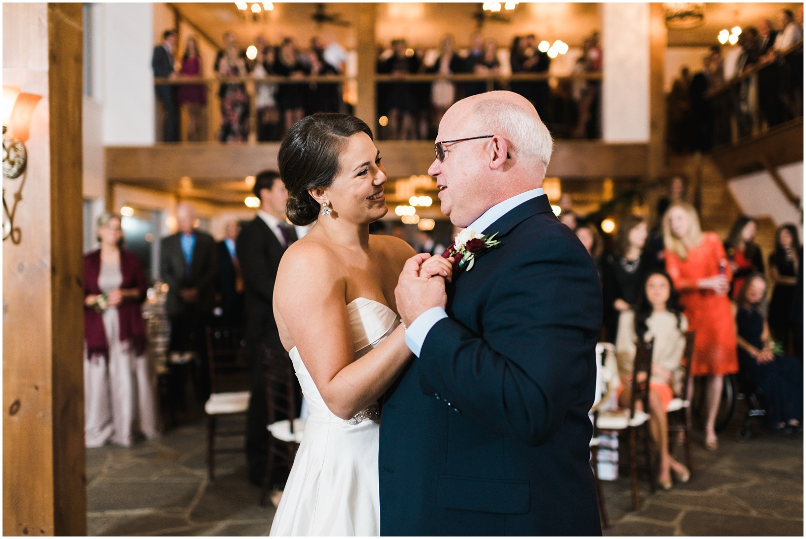 Bride and Father first dance