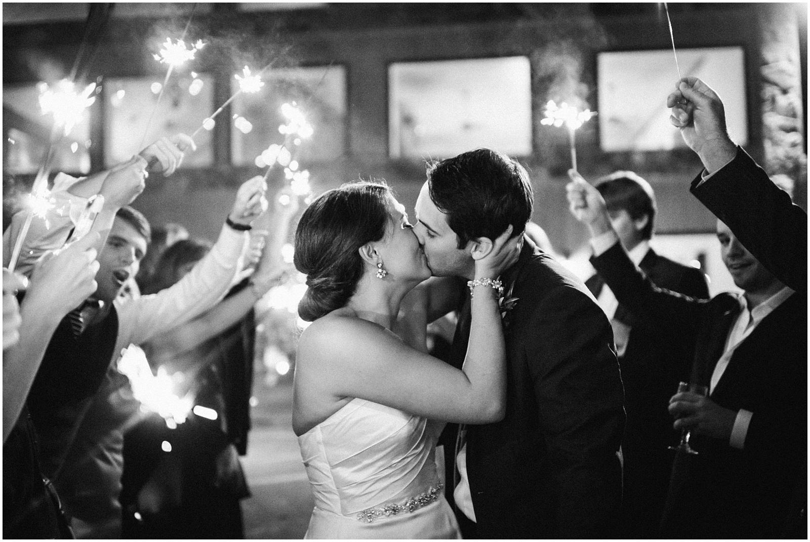 Best sparkler exit at Chota Falls wedding in North GA